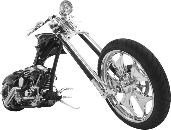 Picture of our Custom Chopper